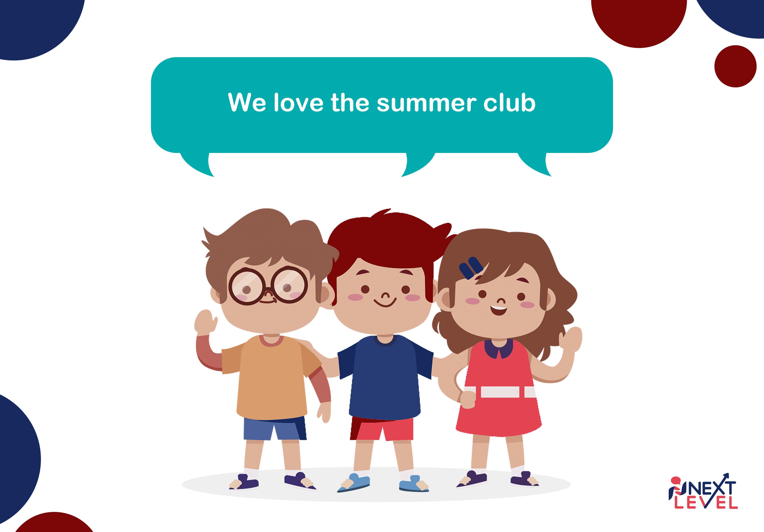 Летний клуб английского для детей!